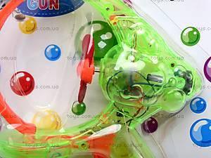 Интерактивный пистолет «Мыльные пузыри», YH0808, цена