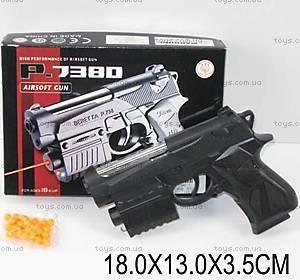 Интерактивный пистолет, с подсветкой, 738D-1