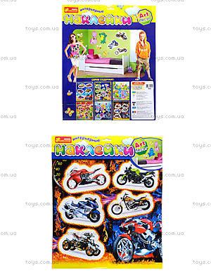 Интерьерные наклейки «Мотоциклы», 8809
