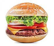 """Матрас """"Гамбургер"""" Intex , 58780, тойс"""