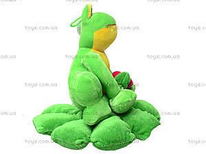 Мягкая игрушка «Жаба на листике», M-YS-2758, фото