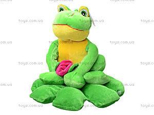 Мягкая игрушка «Жаба на листике», M-YS-2758, отзывы