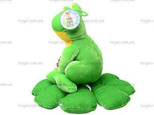 Мягкая игрушка «Жаба на листике», M-YS-2758, цена