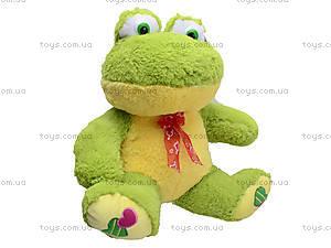 Плюшевая жаба с бантом, M-FY-537, купить