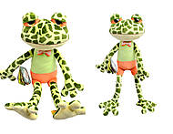 Игрушка жабка Луиз, К443А
