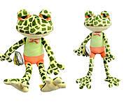 Игрушка жабка Луиз, К443А, отзывы