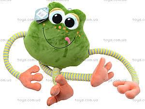 Плюшевая лягушка «Смайлик», К423В, купить