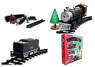 Игрушечная железная дорога для детей «Мой первый поезд», 0736