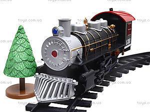 Игрушечная железная дорога для детей «Мой первый поезд», 0736, магазин игрушек