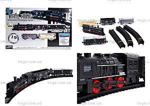 Железная дорога с подсветкой Rail King, TL08