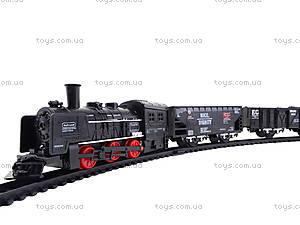 Железная дорога с подсветкой Rail King, TL08, toys.com.ua