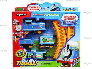 Детская железная дорога «Паровозик Том», 018-1, детские игрушки