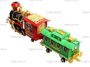 Детский паровоз Classical Train, 2412, игрушки