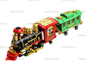 Детский паровоз Classical Train, 2412, детские игрушки