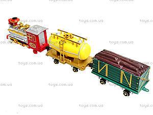 Детский поезд с дымом Railway, 2803, купить