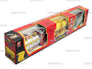 Детский поезд с дымом Railway, 2803, игрушки