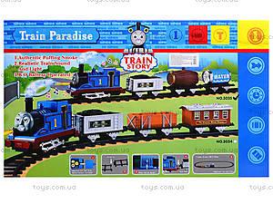 Железная дорога для детей «Парадайс», 3034-35, toys