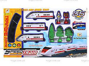 Детская железная дорога Speed Train, 3320АВ, фото