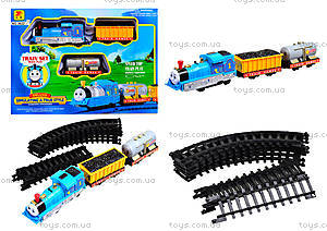 Железная дорога игрушечная «Мой друг - паровозик», 3622АВ