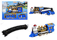 Железная дорога PLAY SMART, эффекты, 064143, игрушки