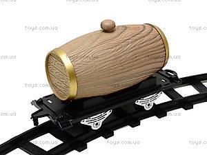 Детская железная дорога со звуком и дымом, 3056, фото