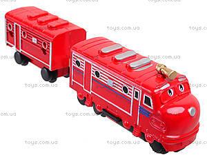 Железная дорога для детей «Чаггингтон: Веселые паровозики», 222-10, игрушки