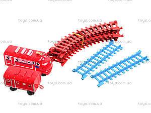 Железная дорога для детей «Чаггингтон: Веселые паровозики», 222-10, детские игрушки
