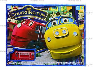 Игрушечная железная дорога «Чаггингтон: Веселые паровозики», 222-12B, купить