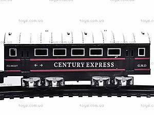 Железная дорога «Грузовой локомотив» для детей, TL02, фото