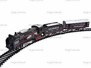Железная дорога «Грузовой локомотив» для детей, TL02
