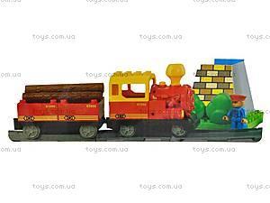 Железная дорога из 80 деталей, 9166A, купить