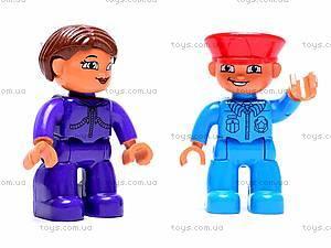 Железная дорога-конструктор, 6188B, детские игрушки