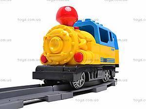 Железная дорога-конструктор, 61 деталь, 6188C, фото