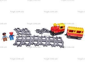 Железная дорога-конструктор с человечками, 9166B