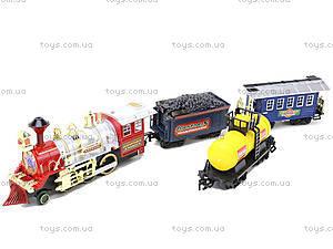 Железная дорога на радиоуправлении со световым эффектом, 45, детские игрушки