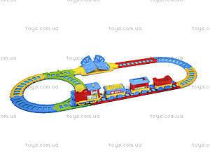 Железная дорога «Паровозик Чух-Чух», 0693, детские игрушки