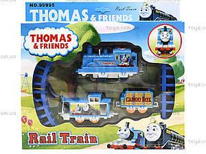 Железная дорога «Паровозик Томас», 99995, детские игрушки