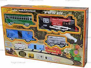 Железная дорога, с мелодиями, 6280, игрушки