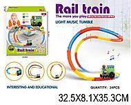 Железная дорога с музыкальным поездом, 8838, фото