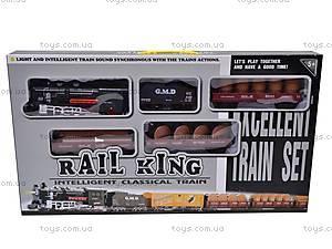 Железная дорога с музыкой, 59787, детские игрушки