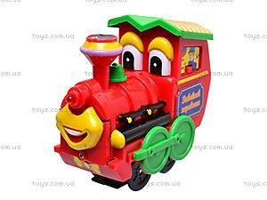 Железная дорога с паровозом, 145501, купить