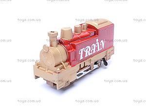 Железная дорога с поездом, 18 деталей, 4, купить