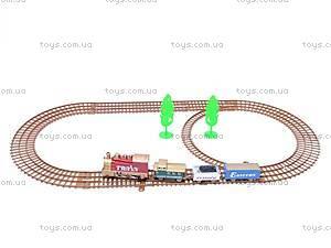 Железная дорога с поездом, 18 деталей, 4