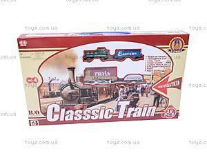 Железная дорога с поездом, 18 деталей, 4, фото