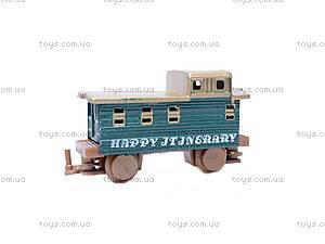 Железная дорога с поездом, 3 вагона, 5, купить