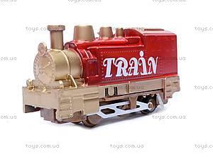 Железная дорога с поездом, 3 вагона, 5, цена