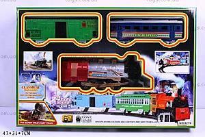 Железная дорога с поездом, 4 мелодии, 6276