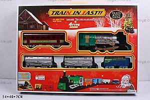 Железная дорога, с поездом и вагонами, 6282