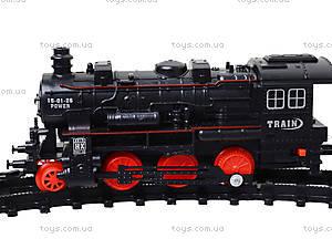 Музыкальная железная дорога с подсветкой, HX2015-17, детские игрушки