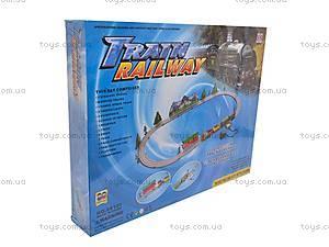 Железная дорога Train Railway, 3,07 м, 08101, детские игрушки